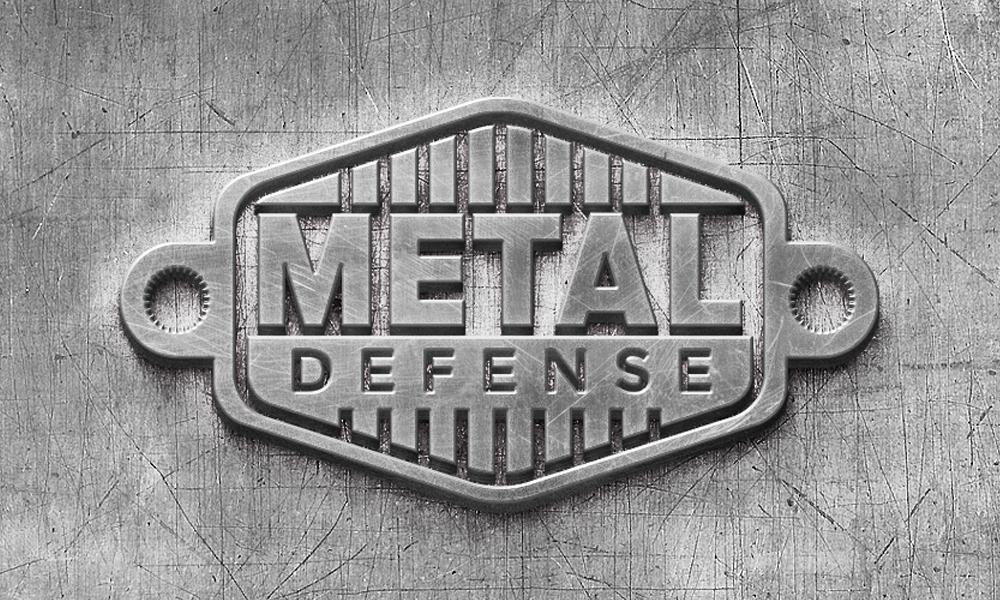 Metal Defense | Logo