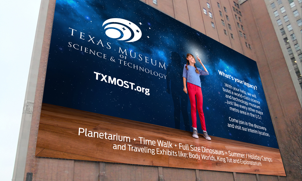 Texas Museum of Science | Signage | Austin, TX