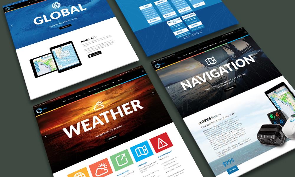 Mazu Marine | eCommerce Website | Mississauga, ON
