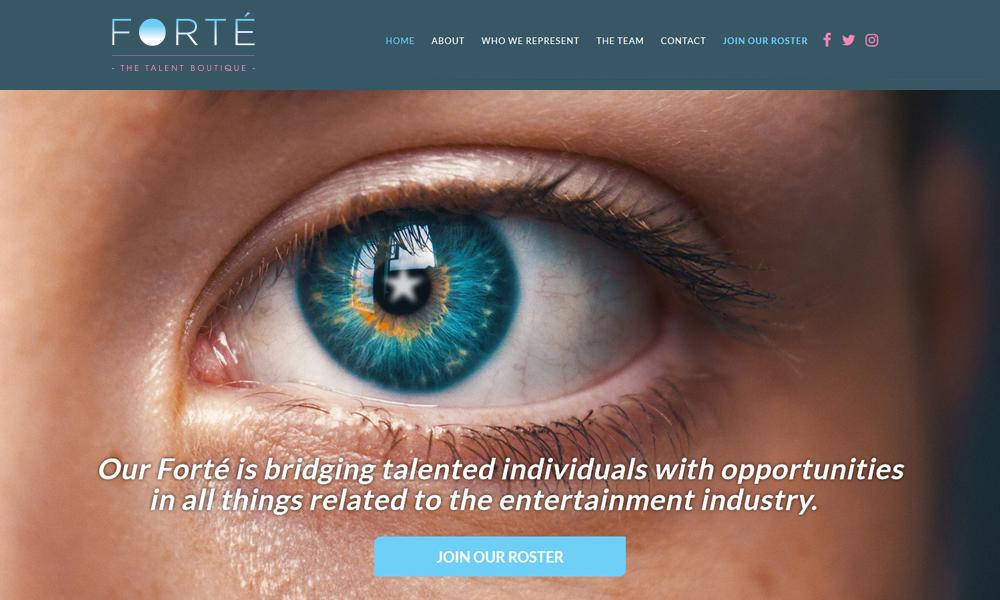 Forté Talent Boutique | Website | Toronto, ON