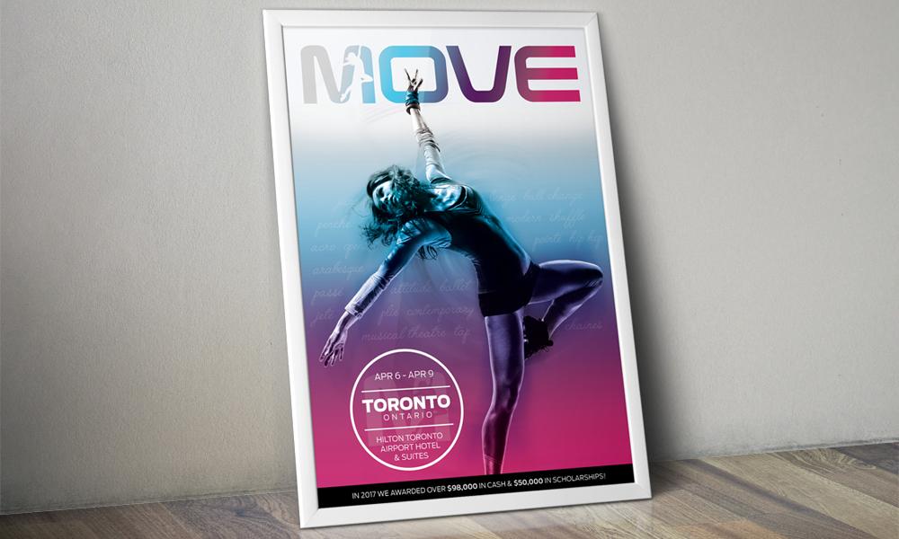 Shawn Desman, MOVE | Print | Toronto, ON