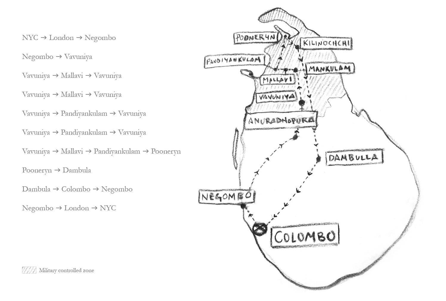 Map courtesy of  Sean A. Murray