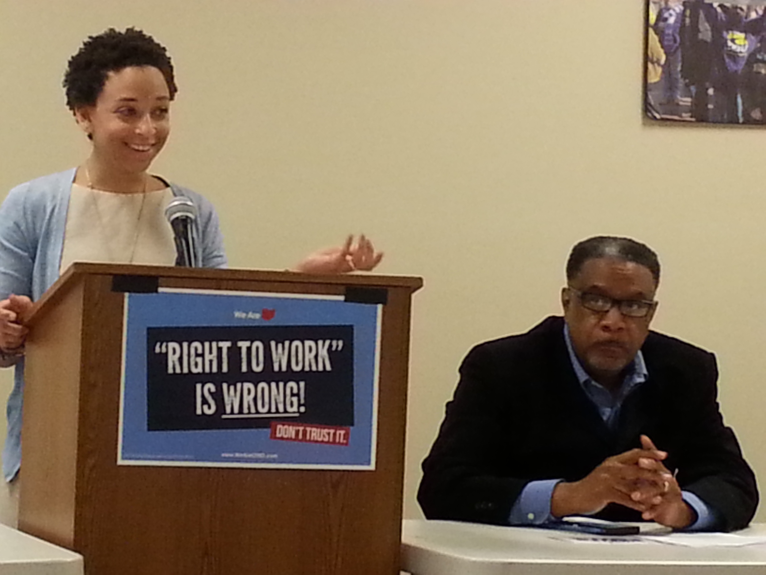 Amelia Hayes, Organizer, Ohio Students Association, @AmeliaJHayes
