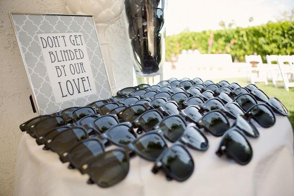 Sunglass Wedding Favours