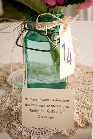Donation Favour, courtesay of Laura McCormand Photography