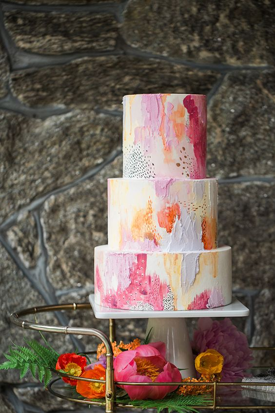 Cake by: Jessica Cooper Photography / Photography by:   Nutmeg Cake Design
