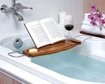 Paula: Wine & a hot bath