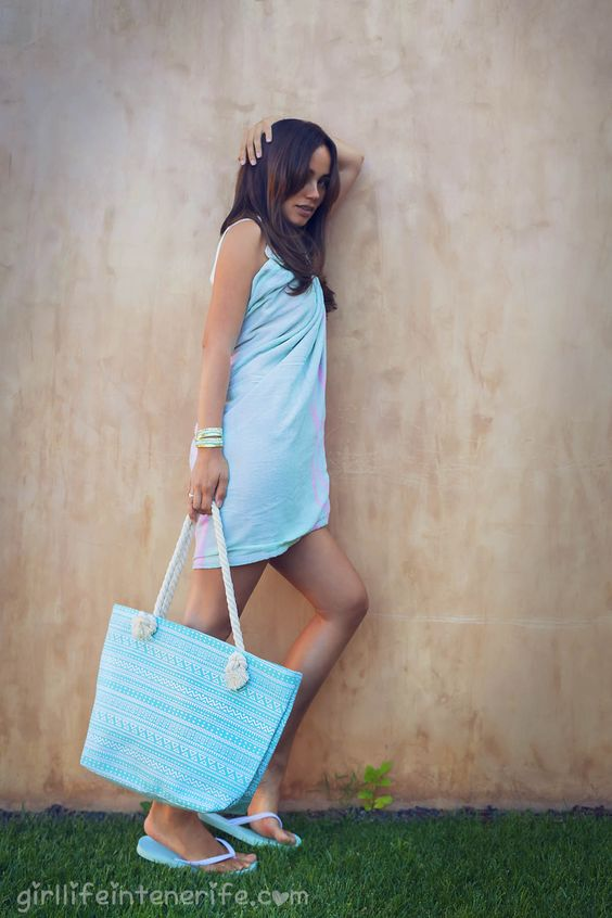 Laura: Beach bag from Barcelona