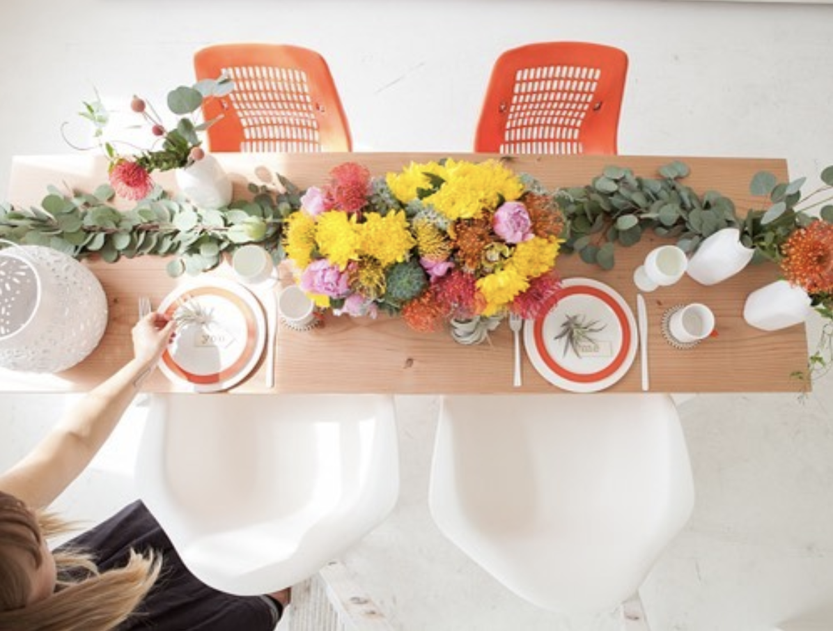 Source: Bash Specialty/ Rook & Rose Florals/ Rock Paper Square/ Lille Louise Photography