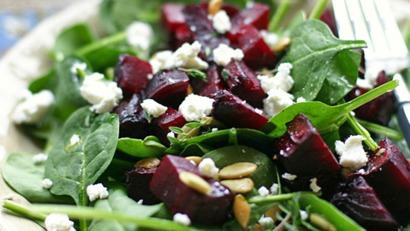 Barb: Beet & Goat Cheese