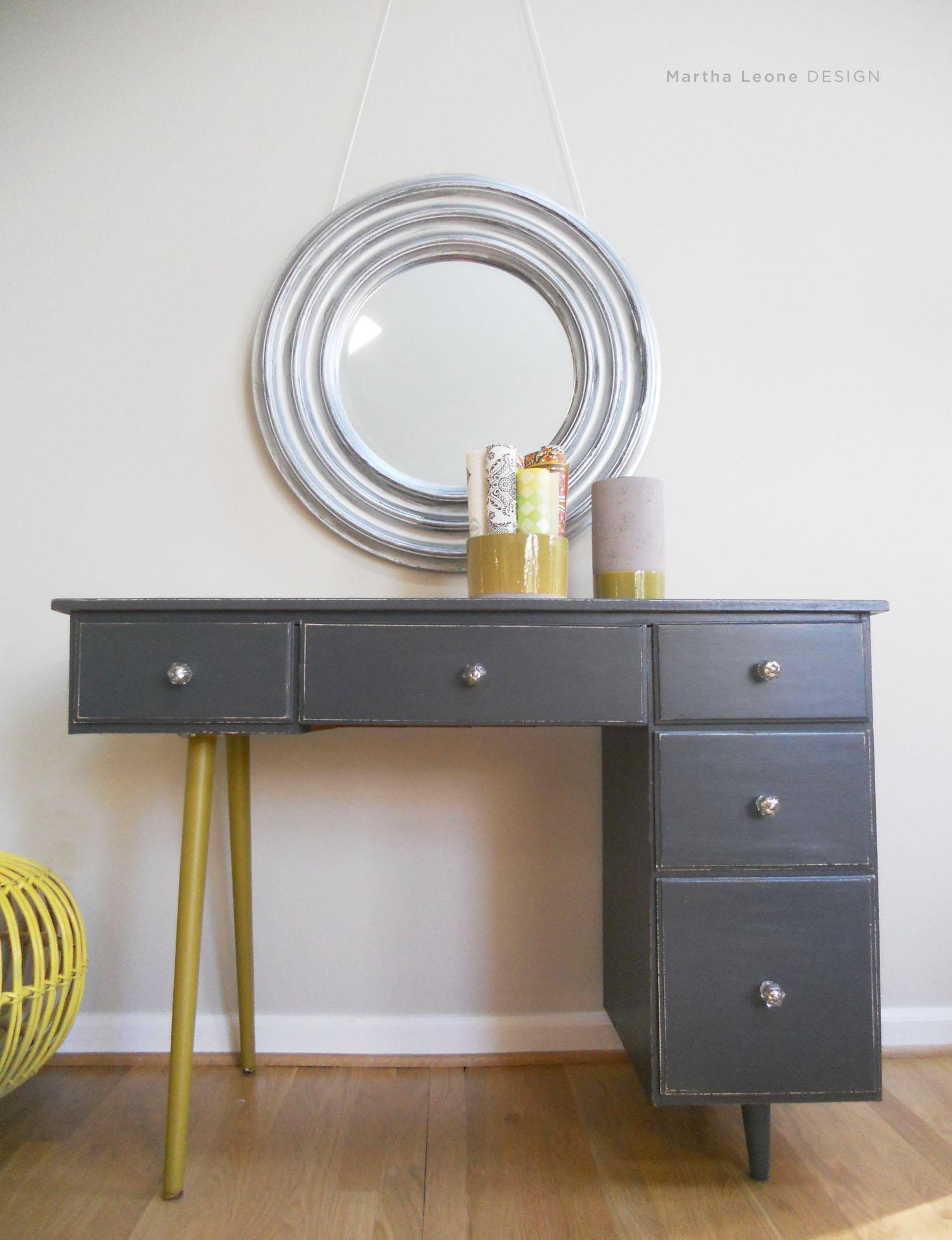 83 Mid century10 desk Martha Leone Design