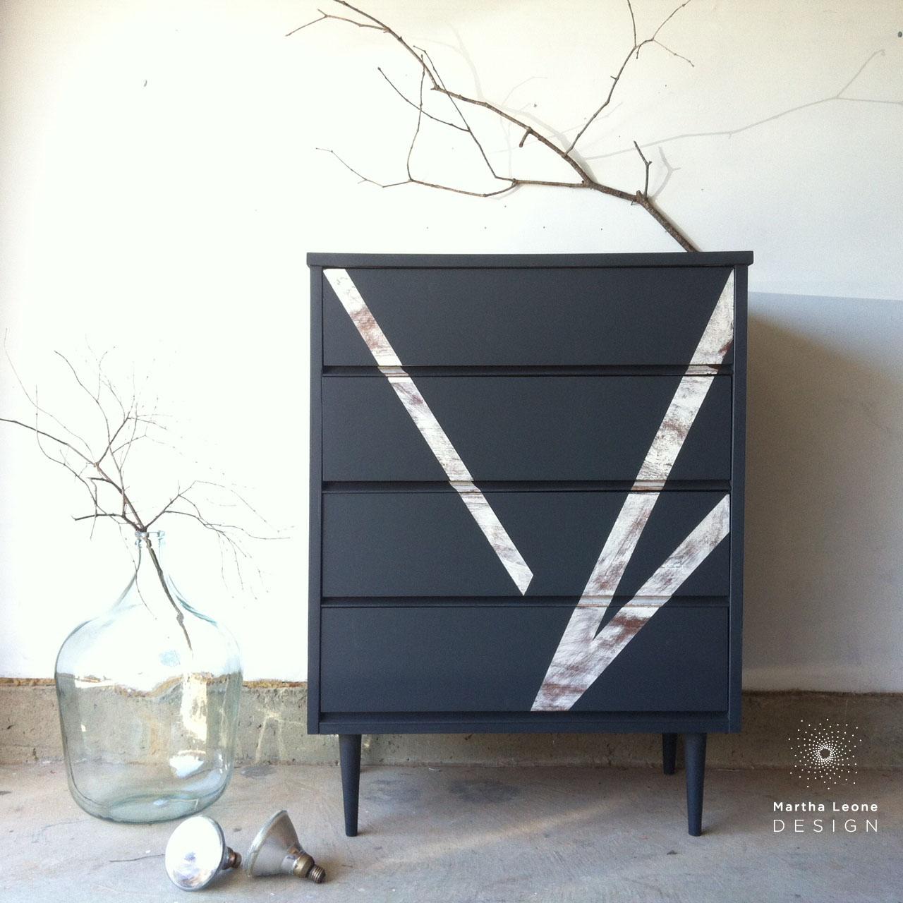 mid century dresser, mid century tallboy