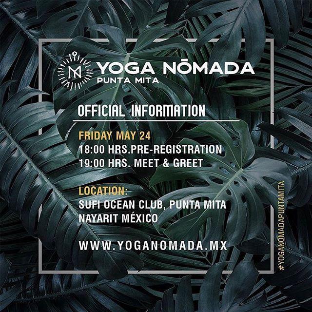 Ya listos? Are you ready? New location!!! Nueva de locación a #sufioceanclub @yoganomadamx #yoga #puntamita #yogainspiration #niceevent #goodvibes #rivieranayarit #sayulita #🧘♂️