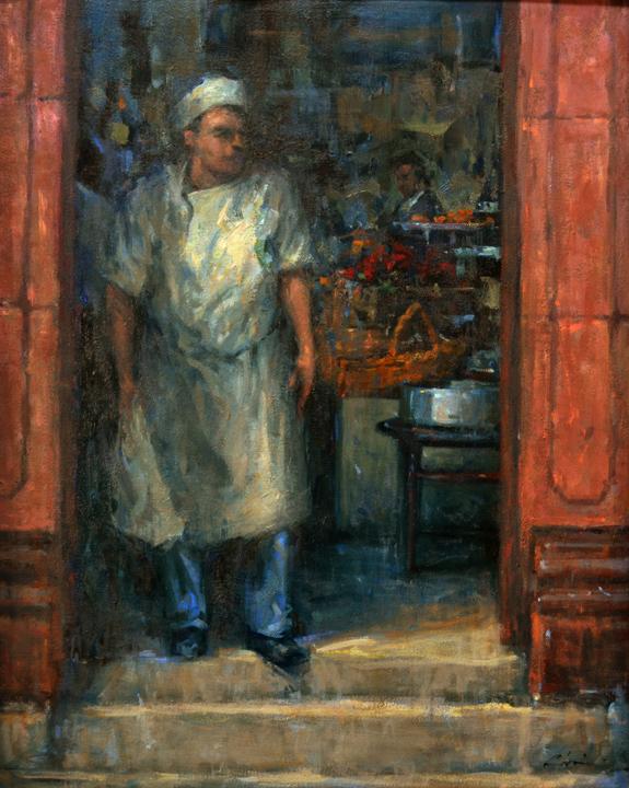 The Baker's Door