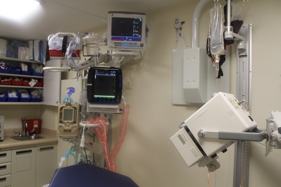 Clinic In A Can diagnostic stack for our ER/Trauma units