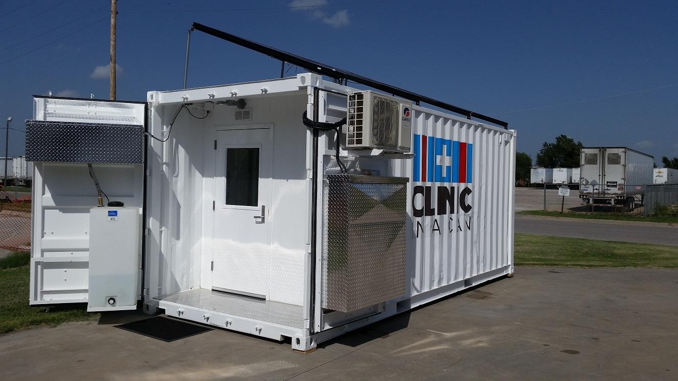 CIC 20 ft solar clinic pic 2.jpg resized 9.15.14.jpg