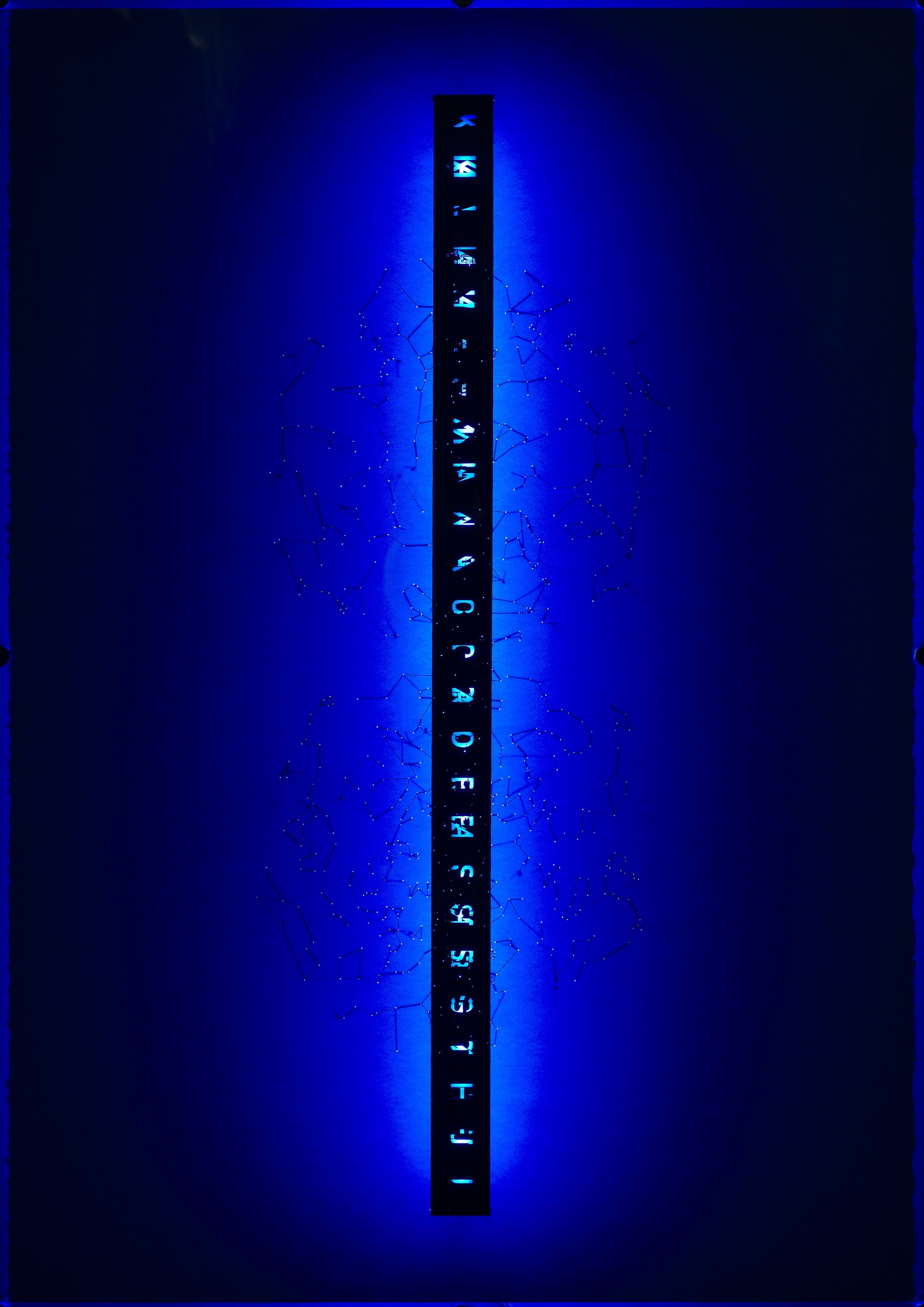 Alphabet of stars - after Mallarmé.blue.jpg