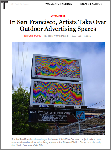 The New York Times: T Magazine - Article