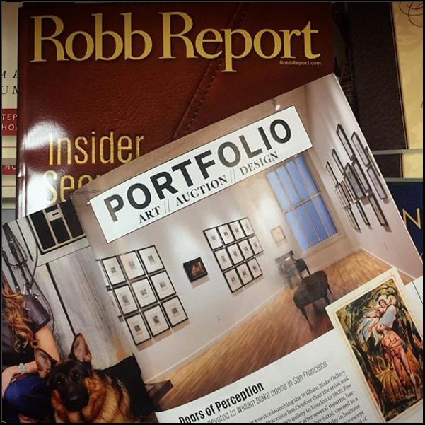 Robb Report - luxury magazine press placement