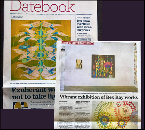 The San Francisco Chronicle - art exhibition review