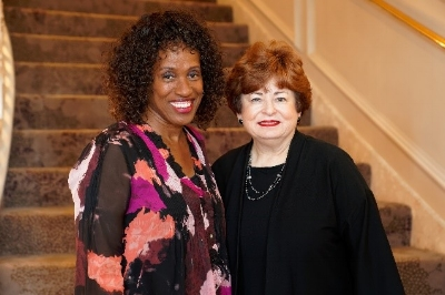 Jackie Joyner-Kersee and Maxine Clark at Making a Difference 2018