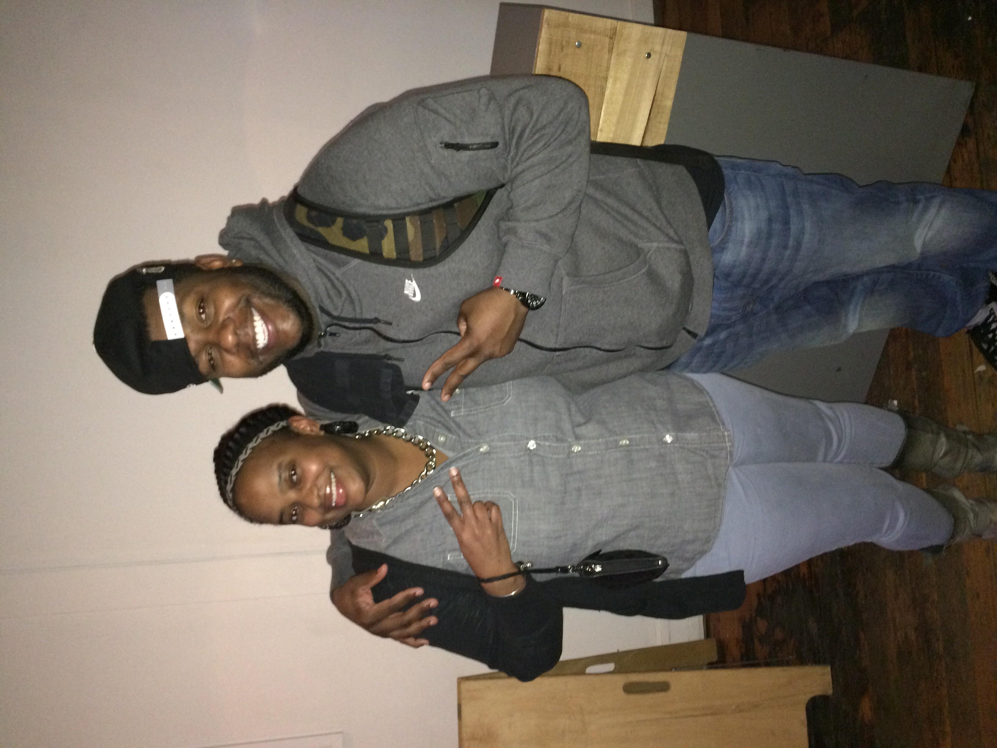 DJ Tummy Scratch and I. 716!