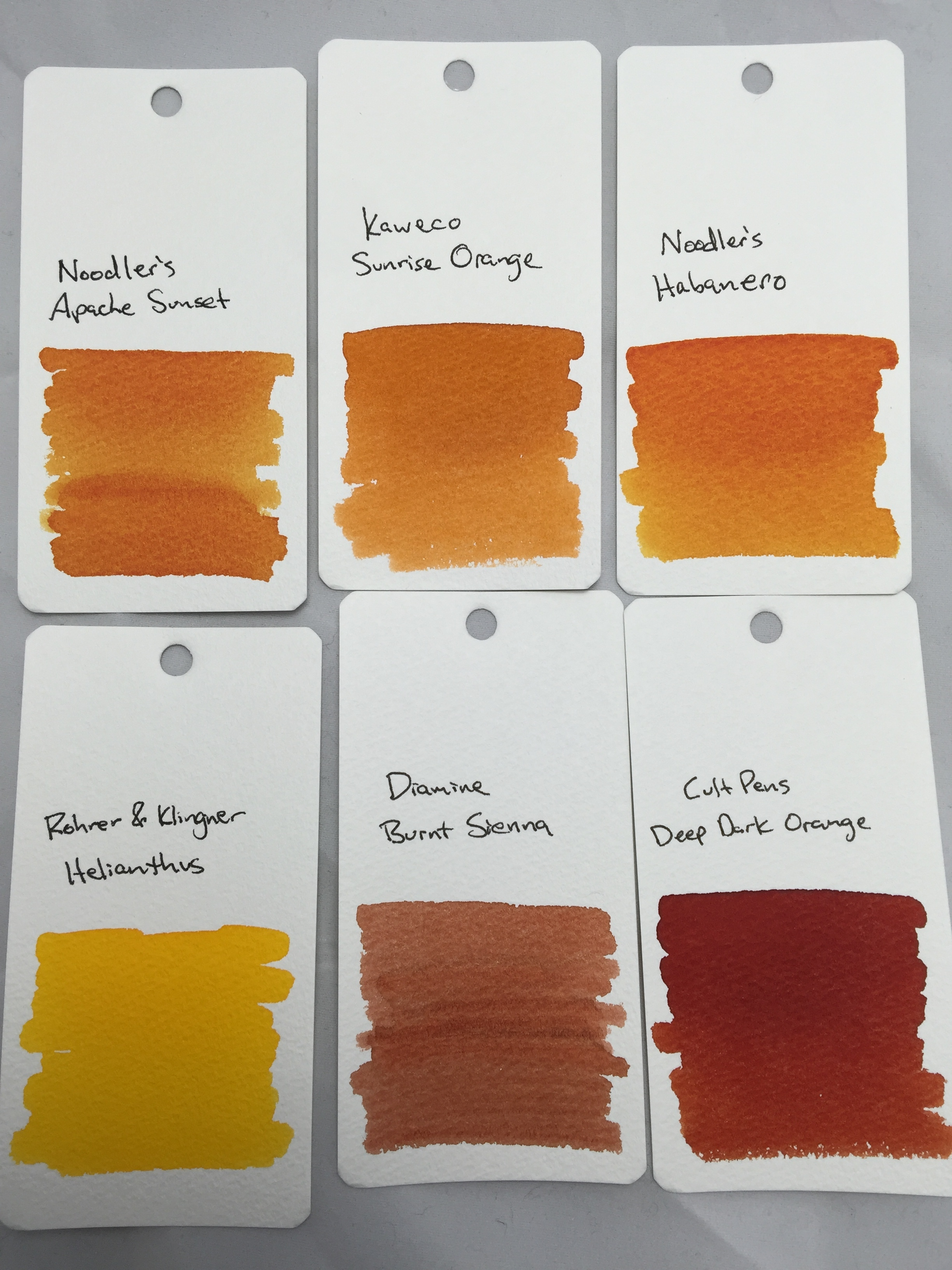 sunrise-orange-swab-comparisons