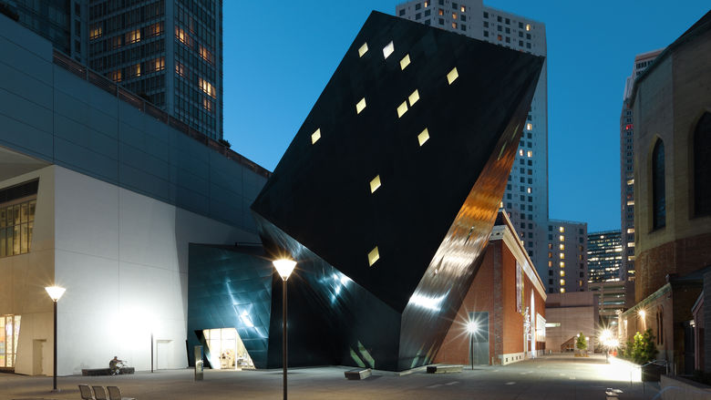 The Contemporary Jewish Museum (©Scott Chernis/SF Travel)