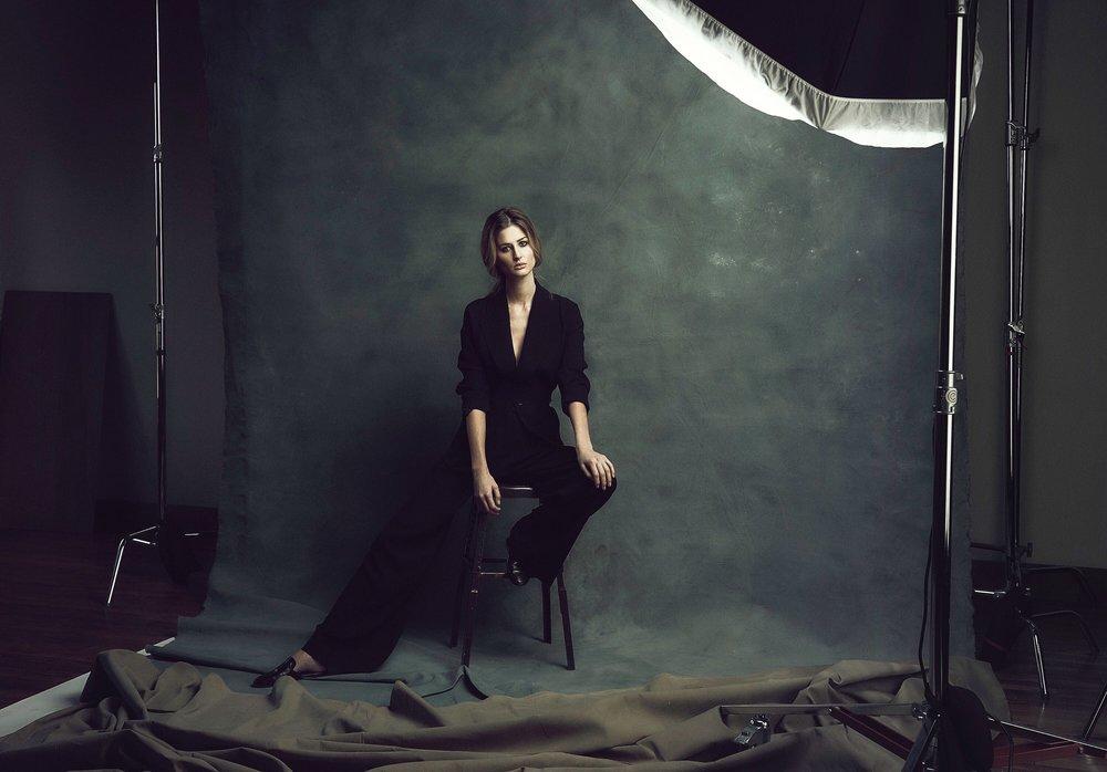 Martha Followill shot by cameron powell  adr wardrobe styling