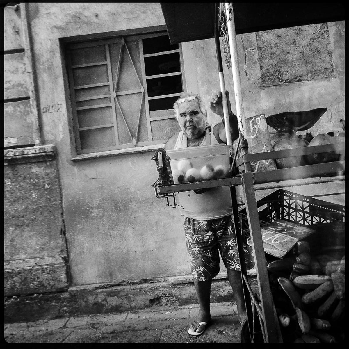 Street vendor, Havana Cuba 2014