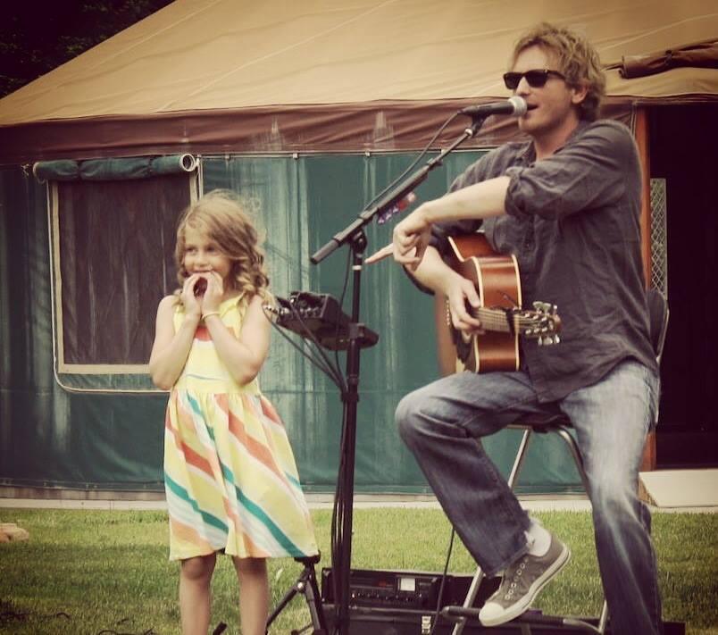 Scott Helmer Performing at 2014 Camp K Fundraising Concert