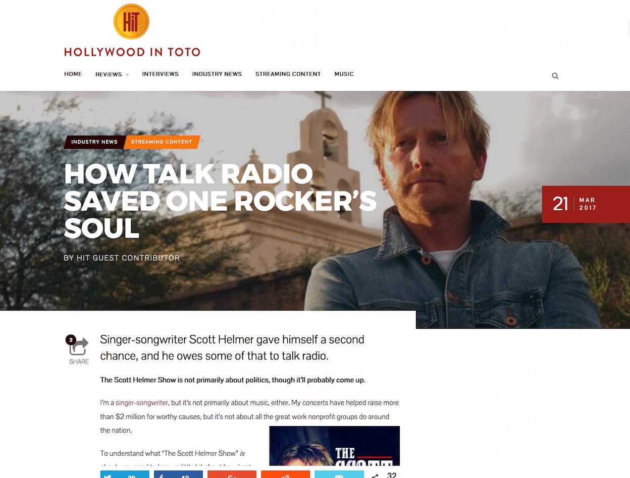 Scott Helmer • How Talk Radio Saved One Rocker's Soul
