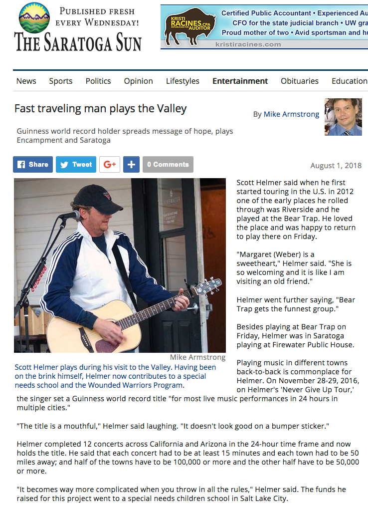 Fast traveling man plays the Valley