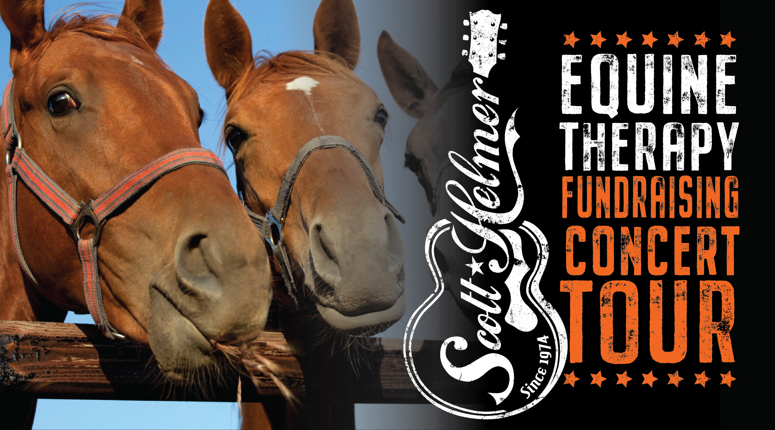 Scott Helmer • Equine Therapy Supporting Concert Tour