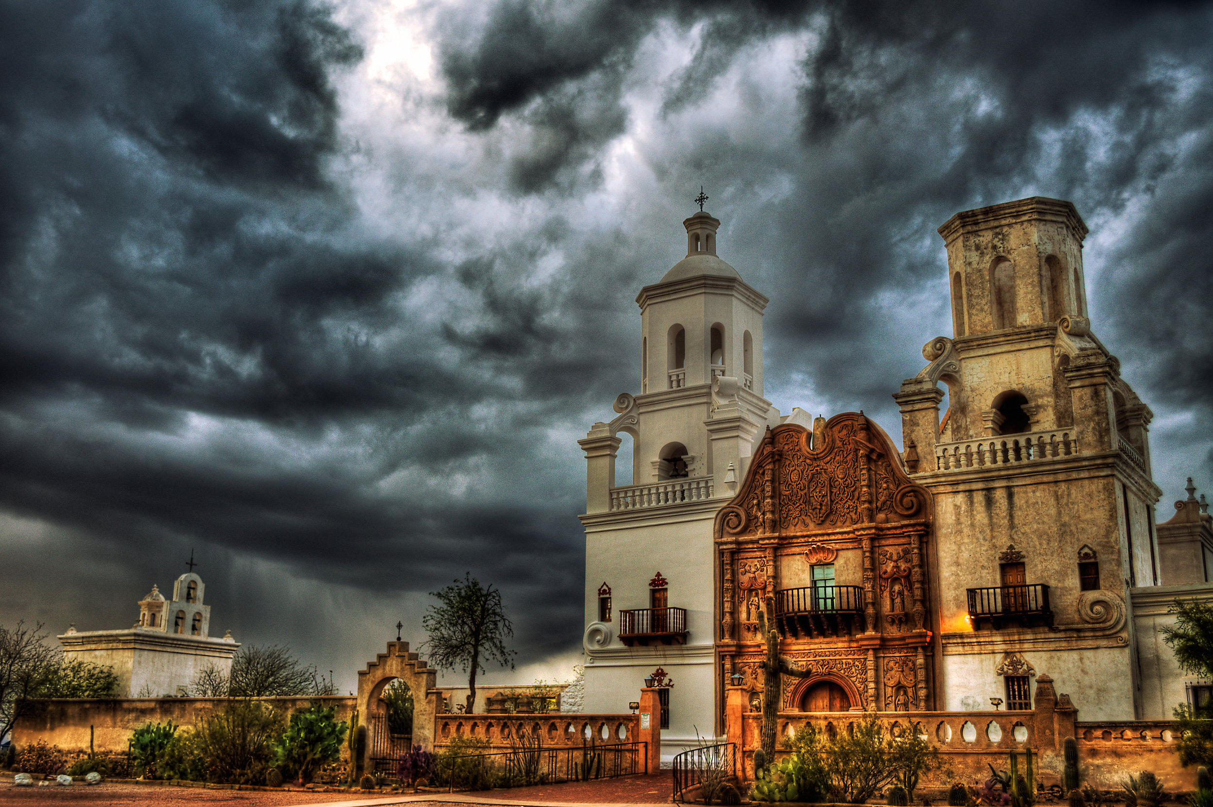 Mission San Xavier del Bac • Photo by Rich Helmer