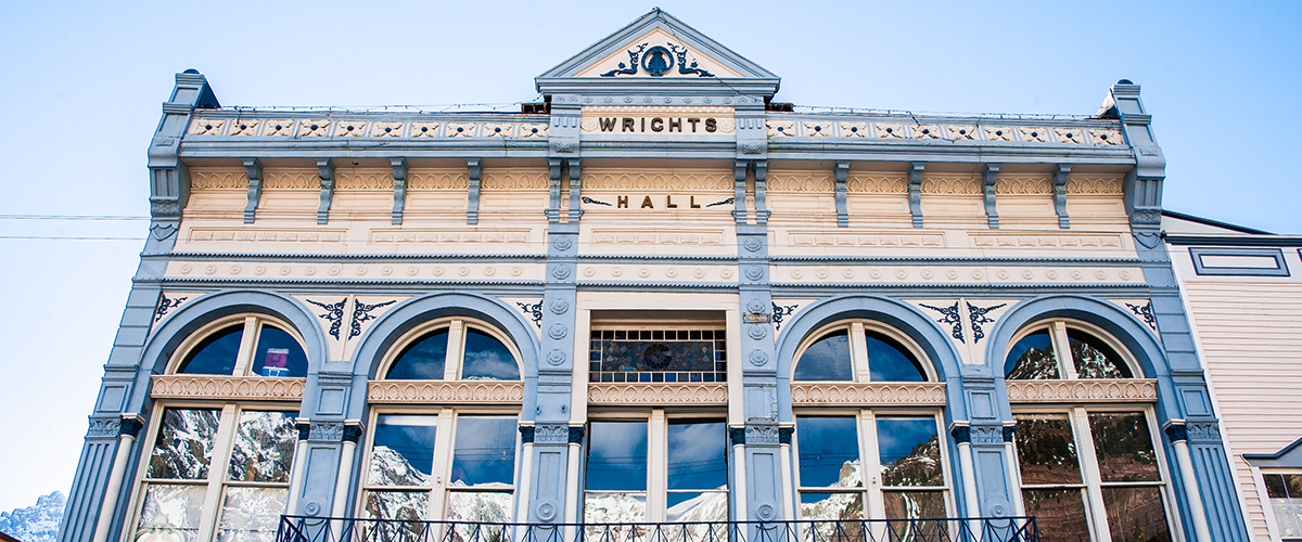 The Historic Wright Opera House, Ouray, CO.