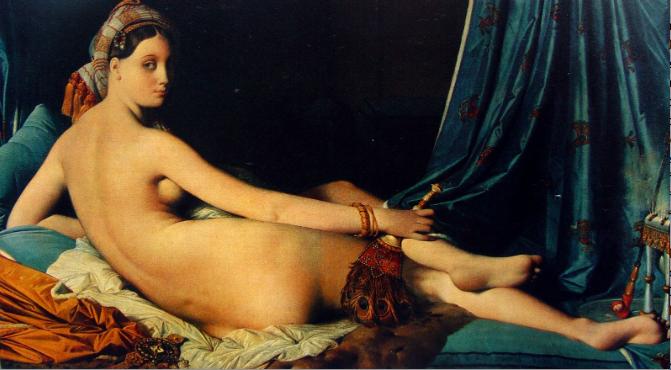 La Grande Odalisque, Ingres, 1814