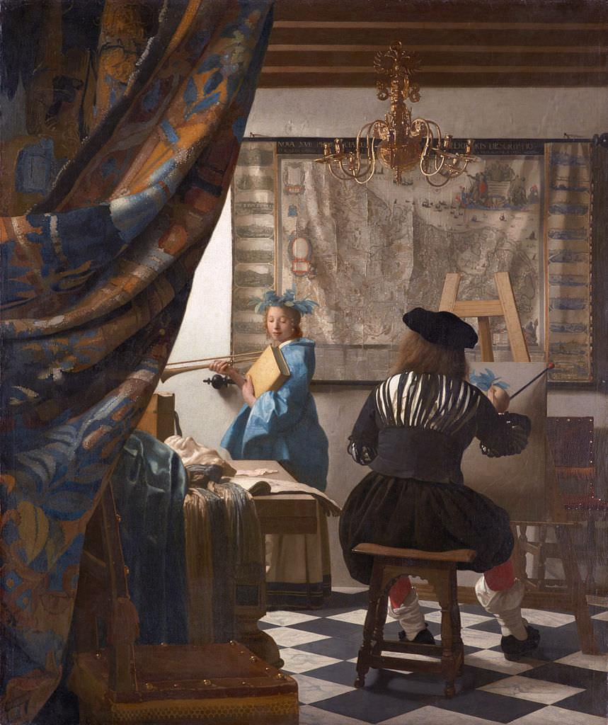 Allegory of Painting, Vermeer 1666
