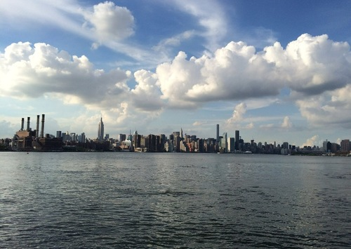 NYC from Gabby's view.
