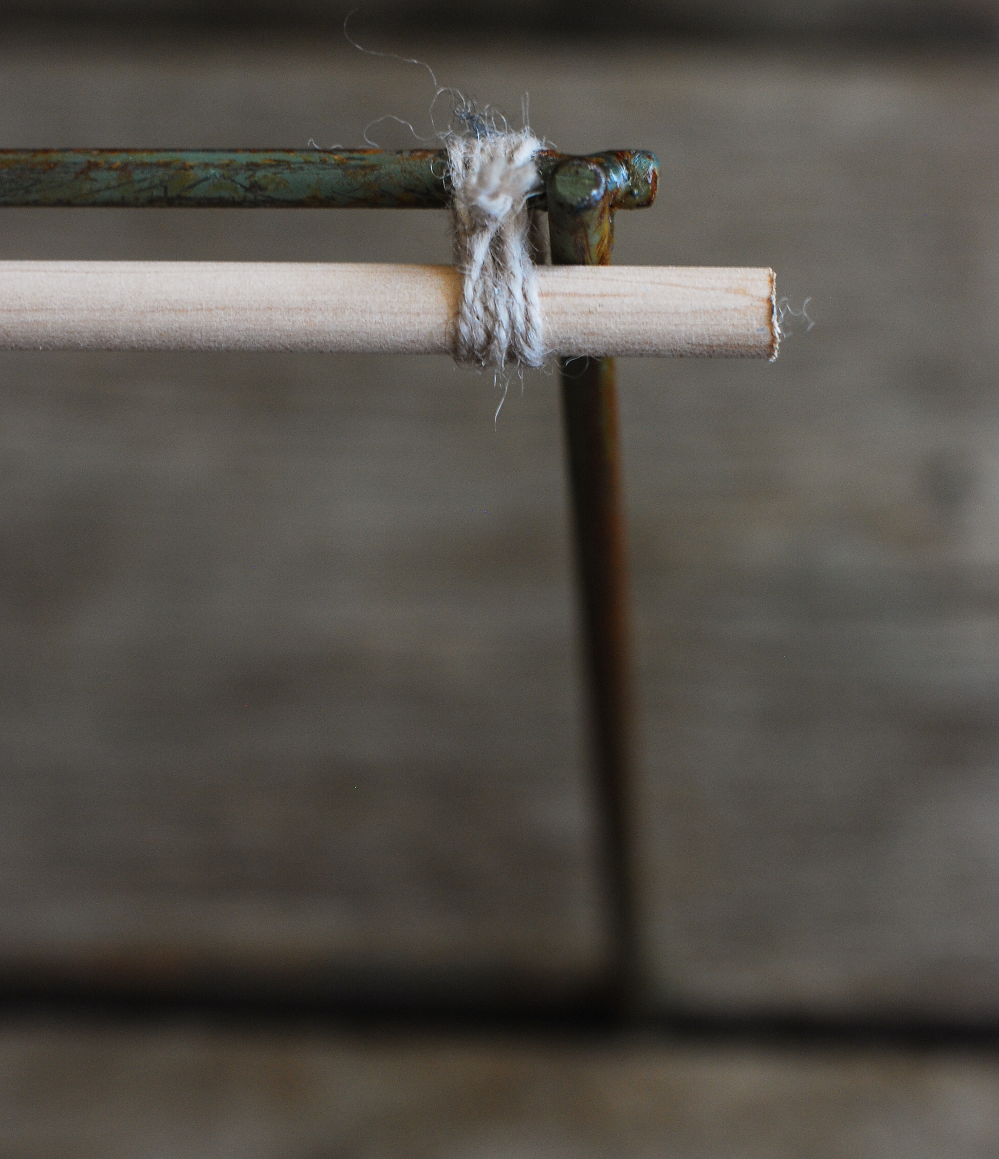 Step 1 - Attaching the Dowel