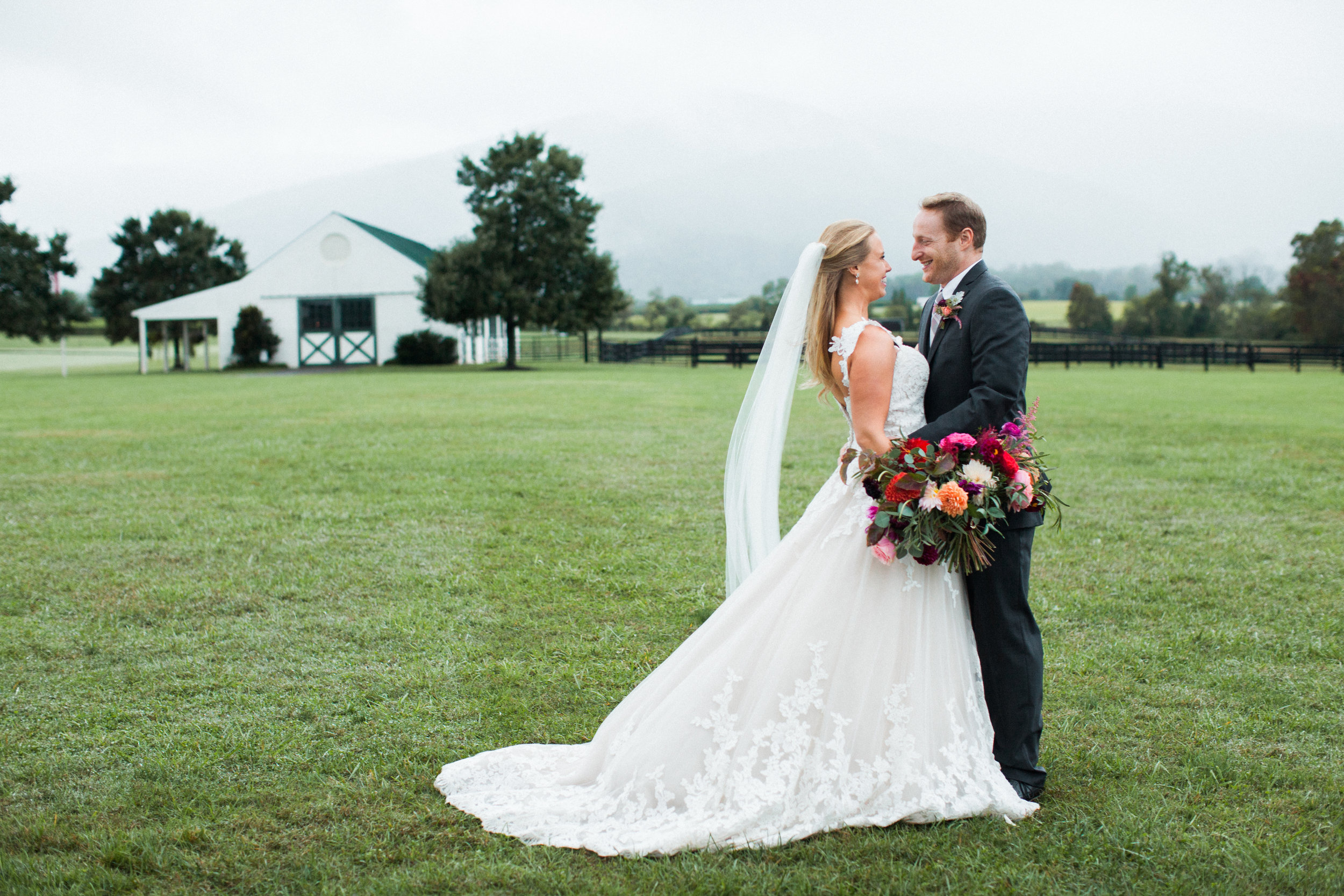 Autumn Wedding at King Family Vineyard, VA