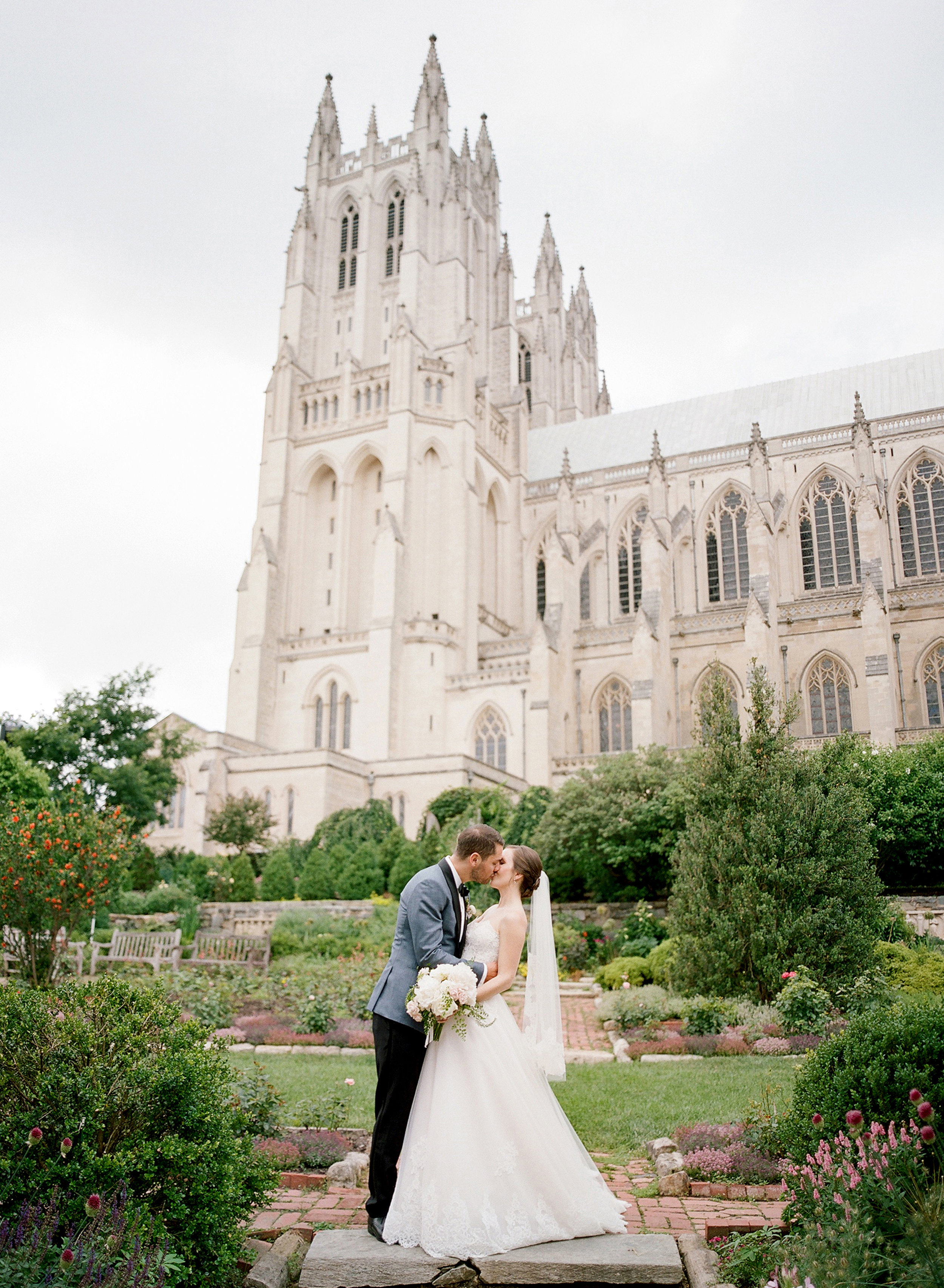 Spring Wedding at The National Cathedral