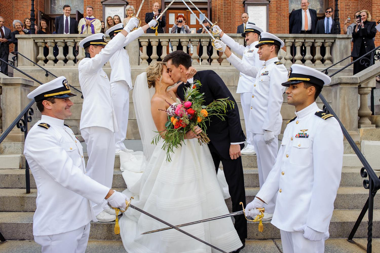 Military Wedding in Washington D.C.
