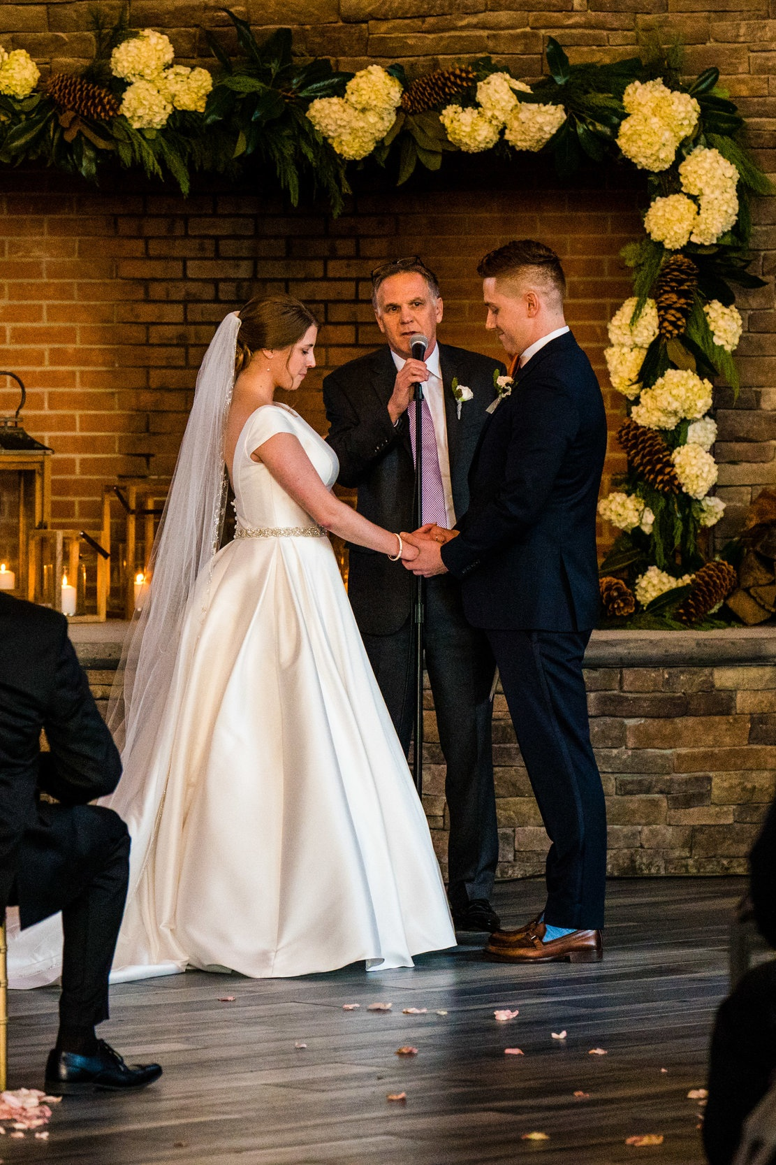 Winter Wedding at Stone House at Stirling Ridge in New Jersey