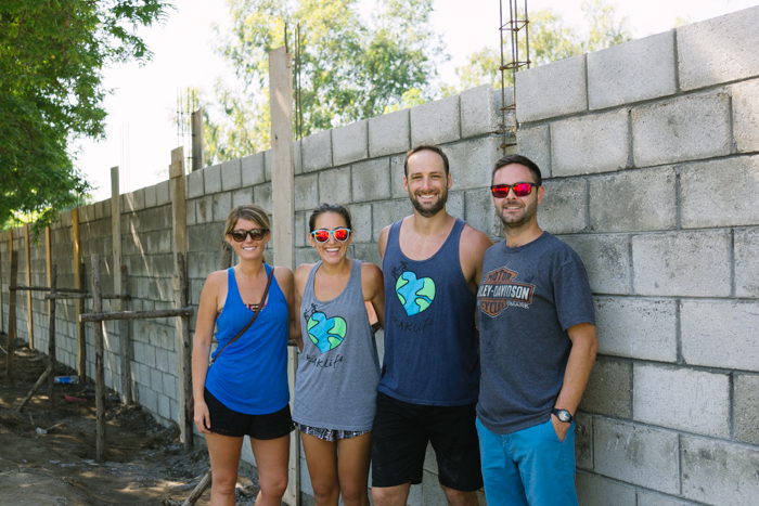 A surprise visit from our friends Mike and Danielle to see our first project in Guatemala.