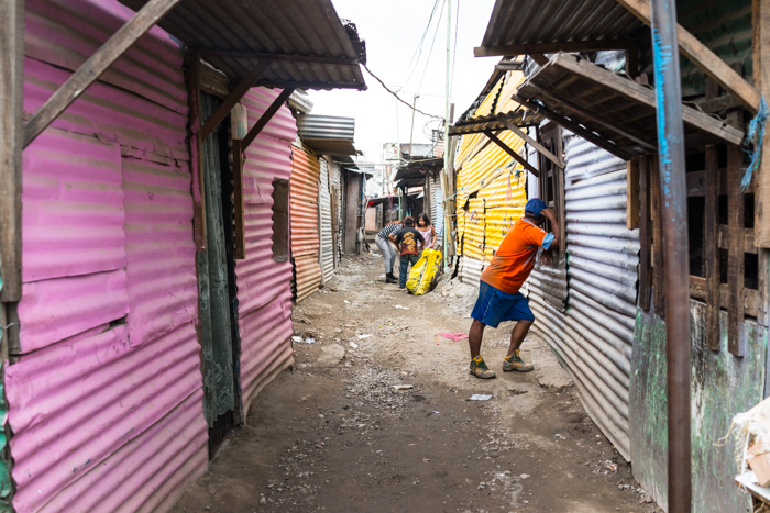 The slums of the Guatemala City dump.