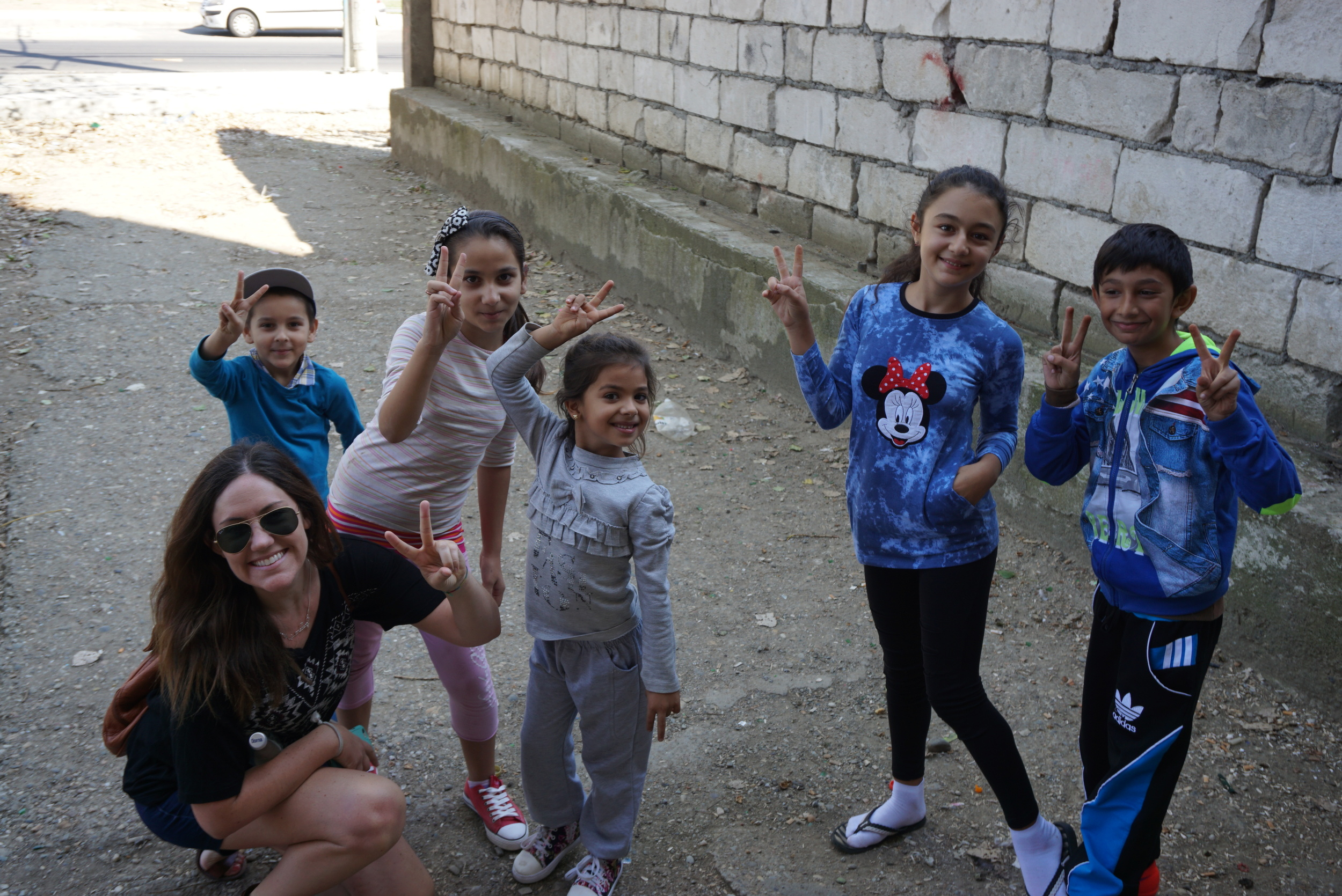 There was a Roma slum in the news a few years back because the Mayor put up a wall that separated them from the surrounding neighborhood.  We visited and loved the children we saw!
