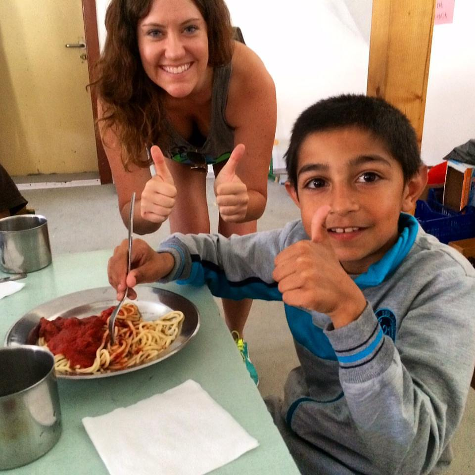 With our new partnership with Everyone Eats (https://www.every1eats.com) we were able to feed the entire community center! Most of the children had never had spaghetti and only eat a hot meal once every couple weeks.