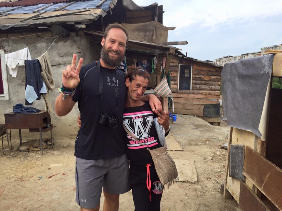 Matt's favorite Roma man walking through the community! He was sassy!!