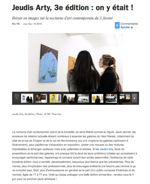 Time Out Paris - 10 février 2015